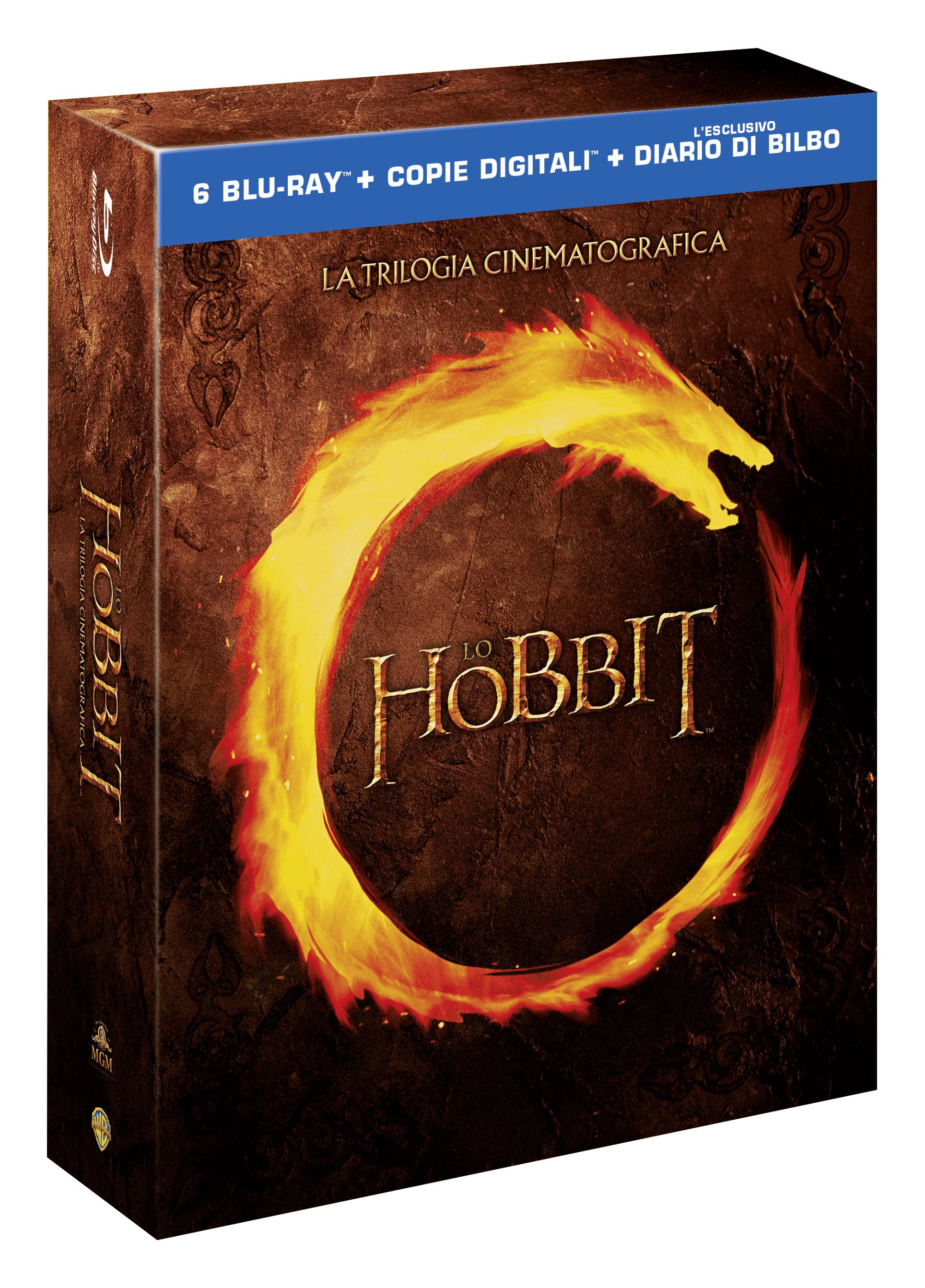 hobbit trilogia blu-ray