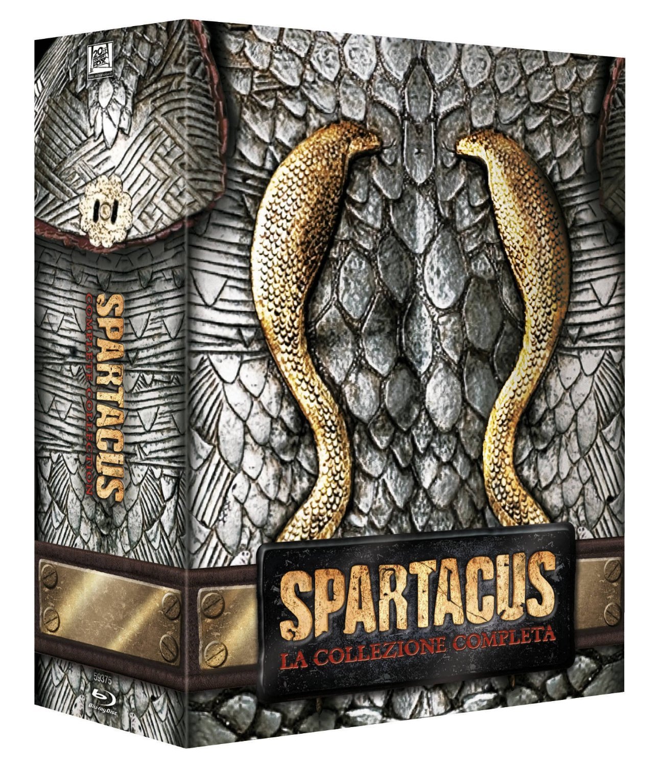 spartacus limited blu-ray