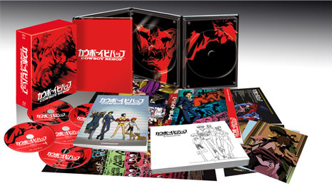 cowboy bebop blu-ray packaging