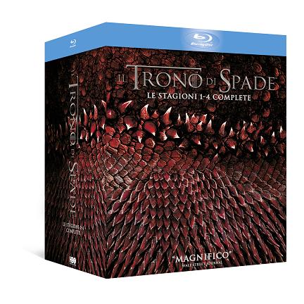 il trono di spade stagioni 1-4 bluray