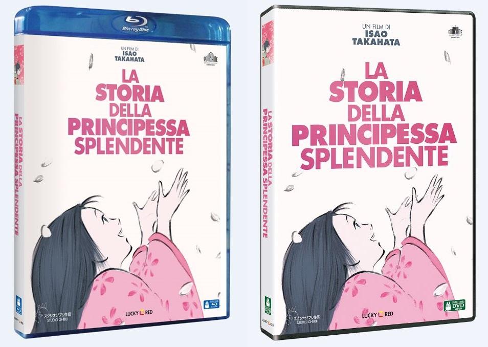 la storia della principessa splendente dvd blu-ray