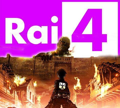 l'attacco dei giganti rai4