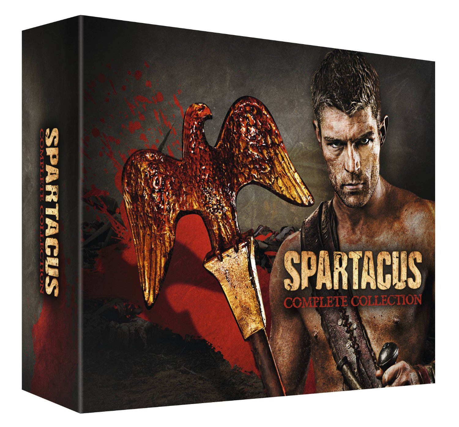spartacus limited dvd