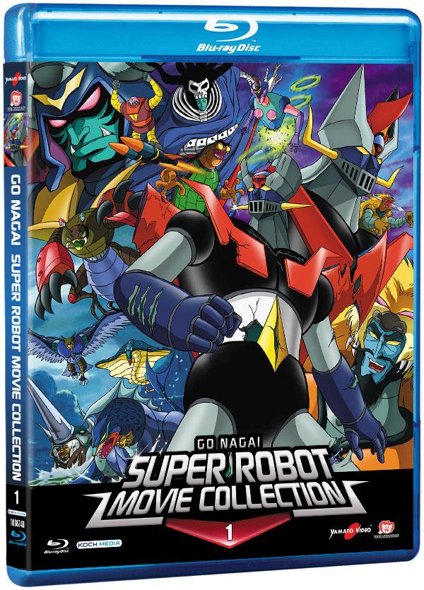 go nagai super robot blu-ray 1