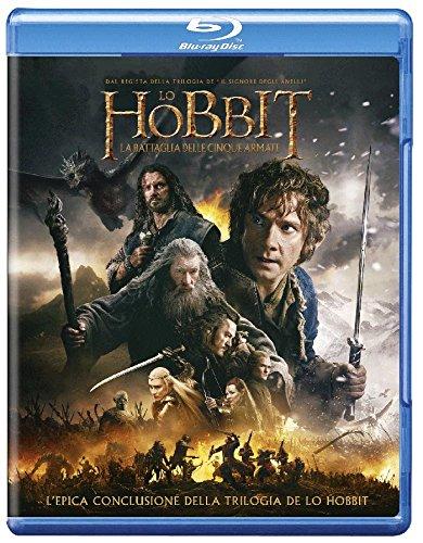 hobbit battaglia cinque armate bluray