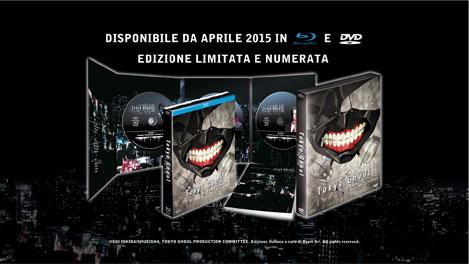 tokyo ghoul dvd e blu-ray