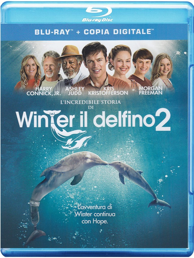 l'incredibile storia di winter il delfino 2  blu-ray