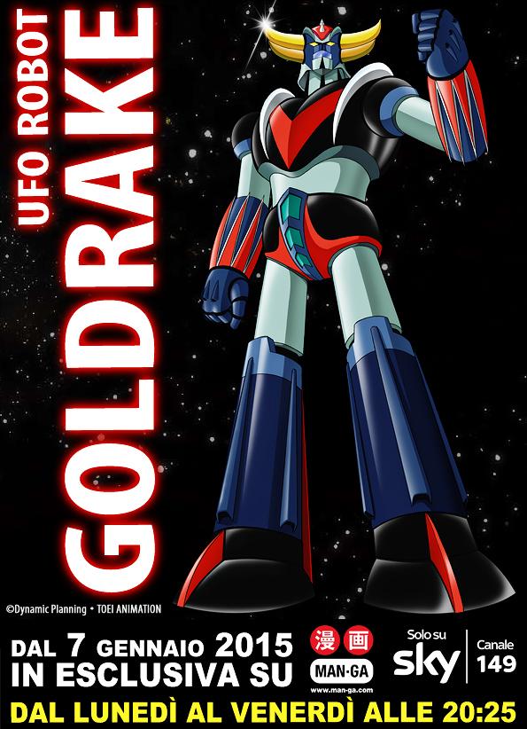 ufo robot goldrake man-ga