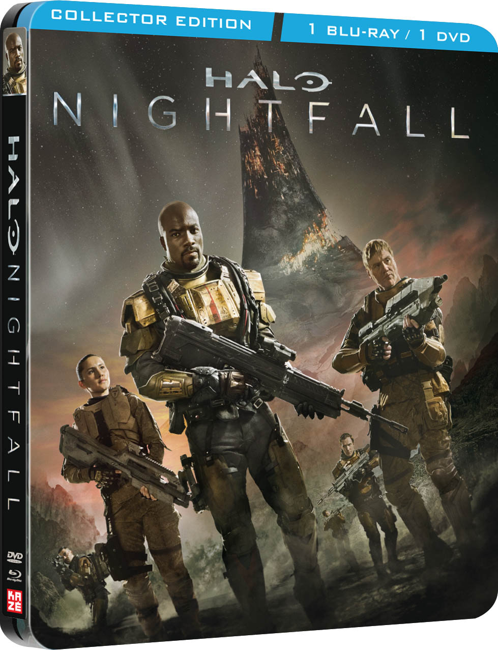 halo nightfall collector's edition steelbook