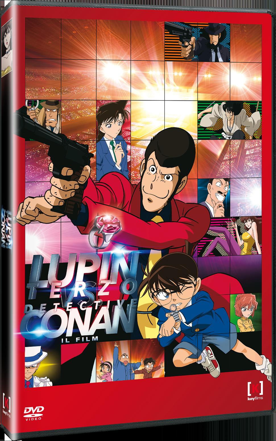 lupin terzo vs detective conan dvd