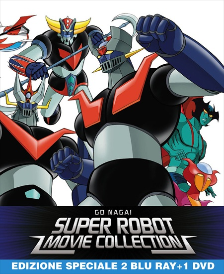 go nagai super robot collection limited steelbook
