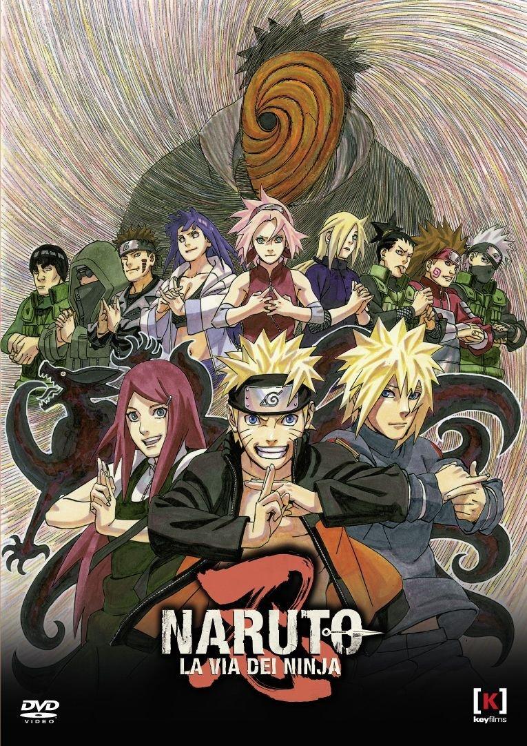 naruto la via dei ninja dvd