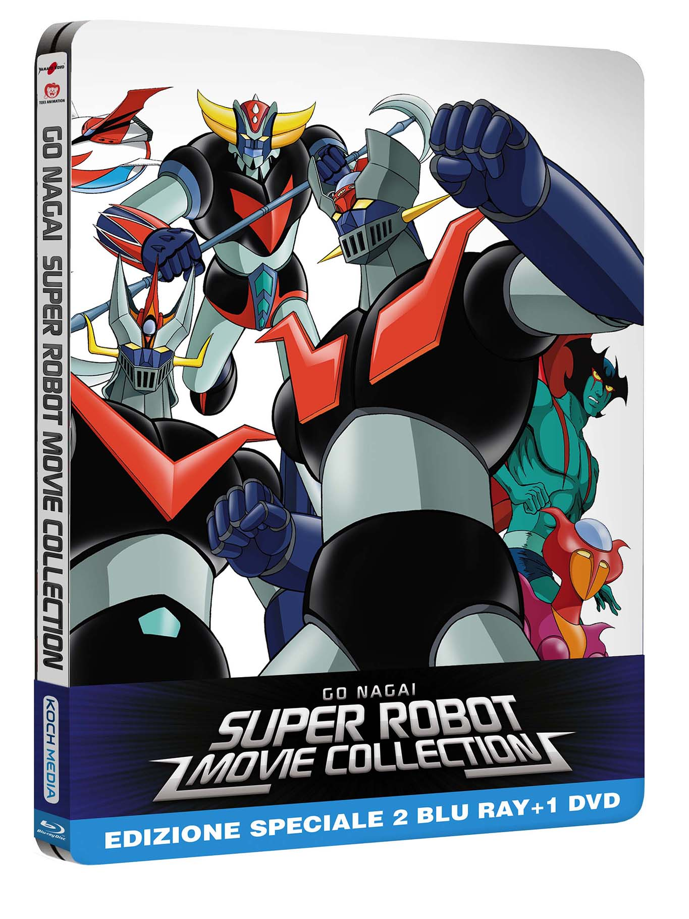 super robot limited edition steelbook