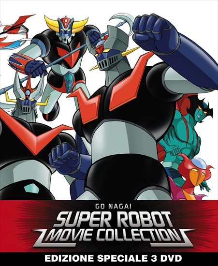 go nagai super robot collection limited steelbook dvd