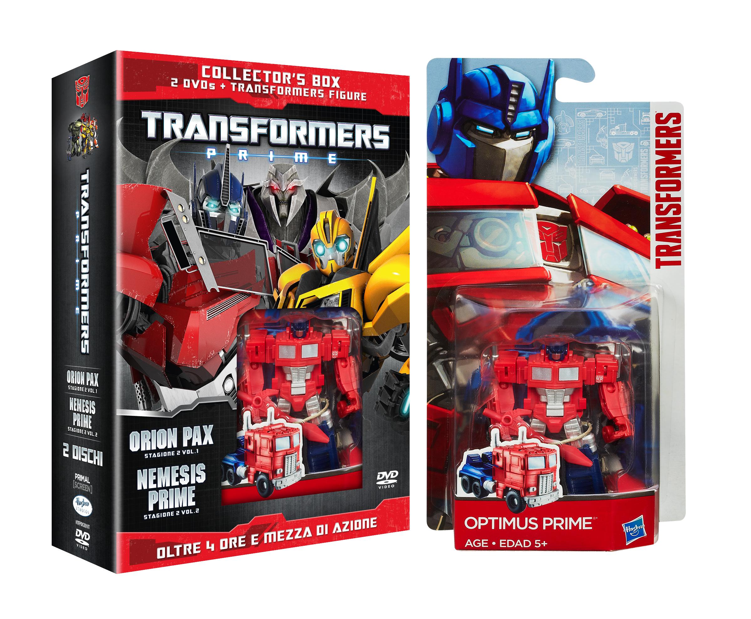 transformers prime stagione 2 edizione modellino 3