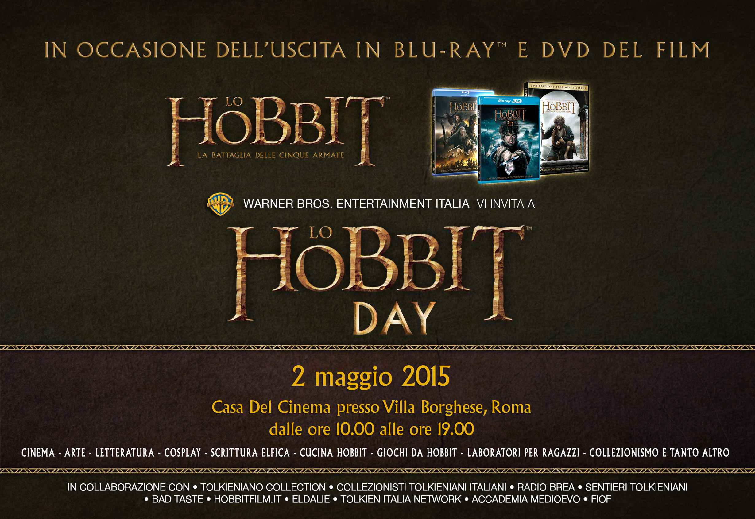 invito lo hobbit day 2015