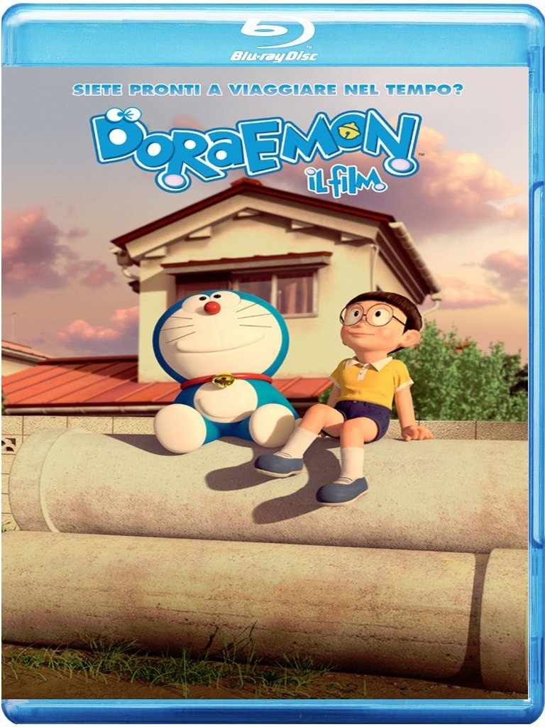 doraemon il film blu-ray