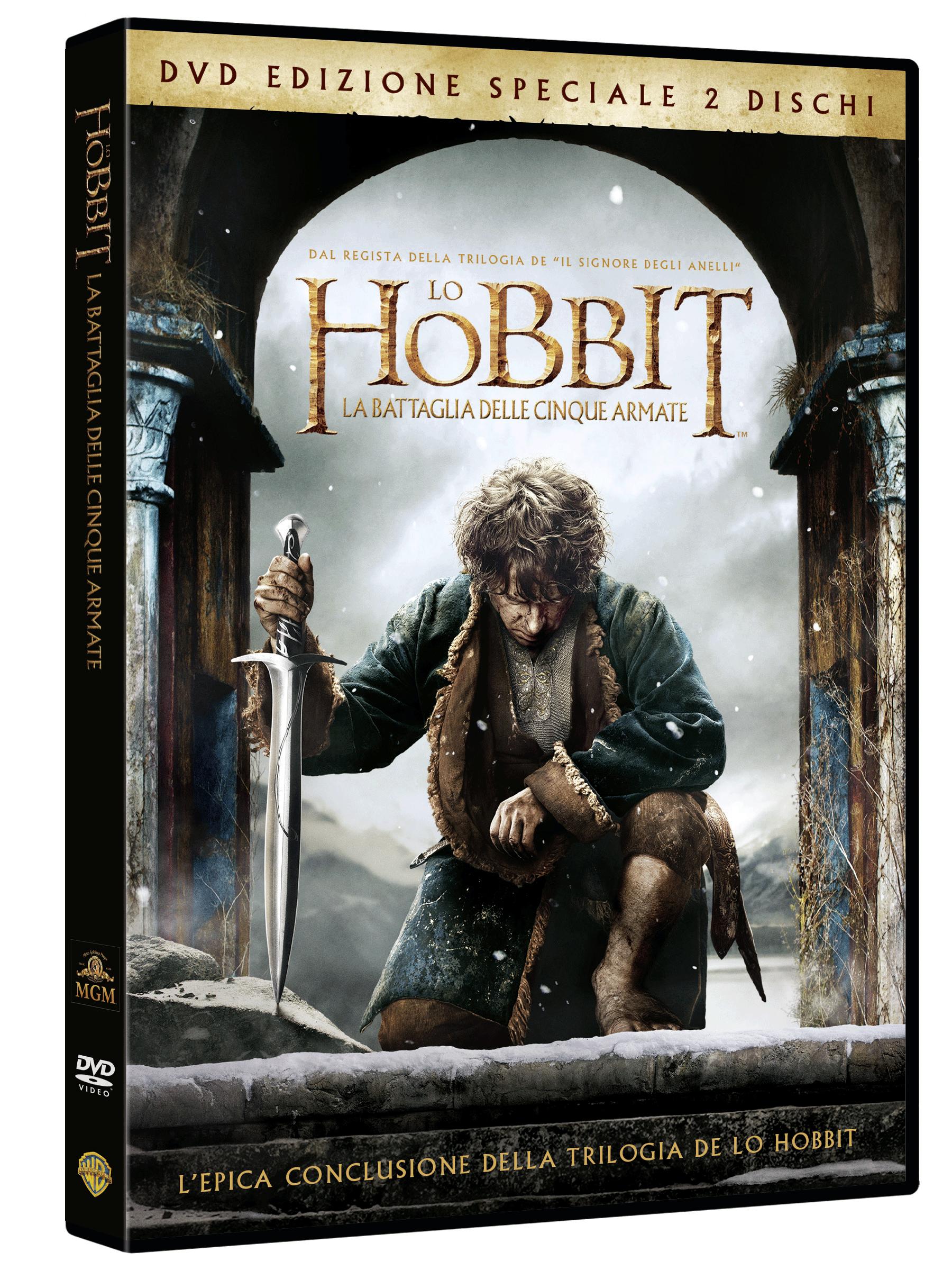 hobbit battaglia cinque armate dvd