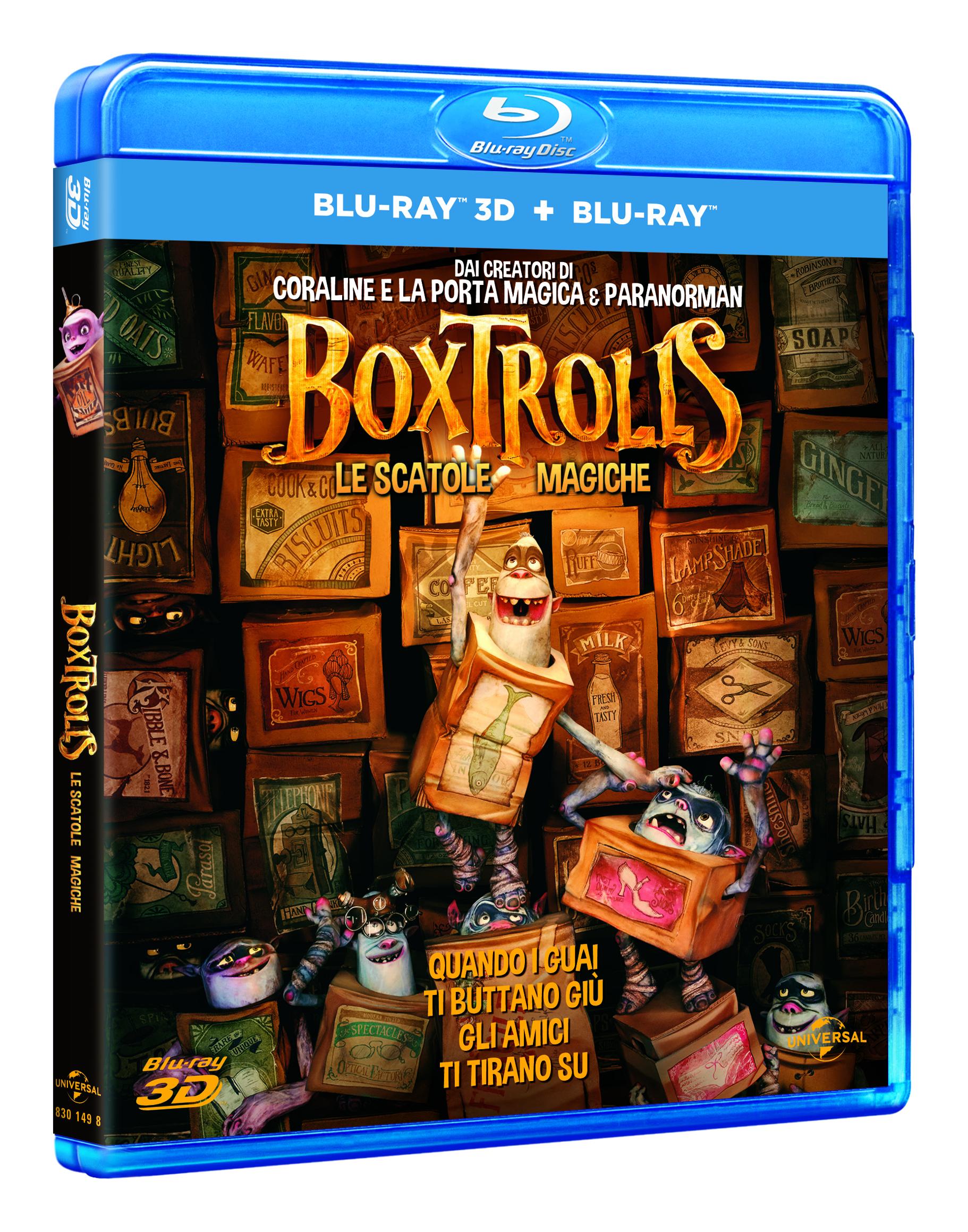 boxtrolls blu-ray 2d 3d