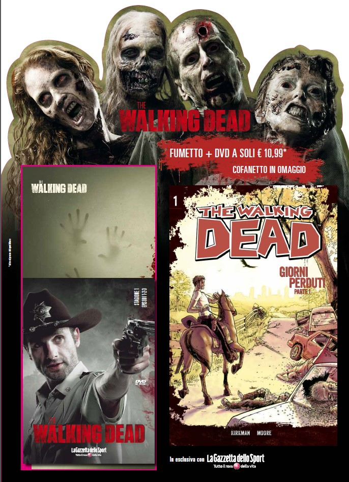 the walking dead dvd fumetto 3