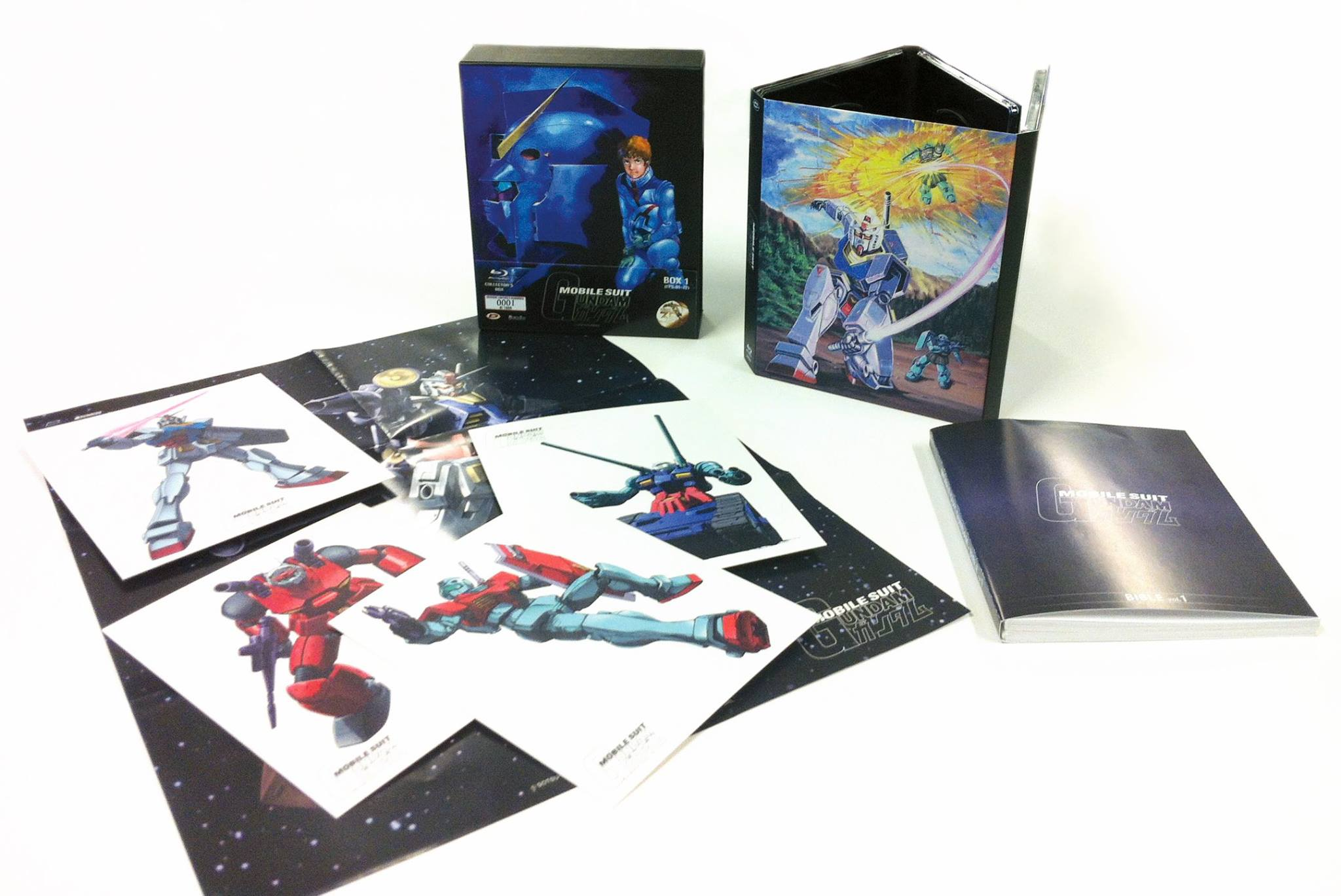 mobile suit gundam prima serie box 1 blu-ray