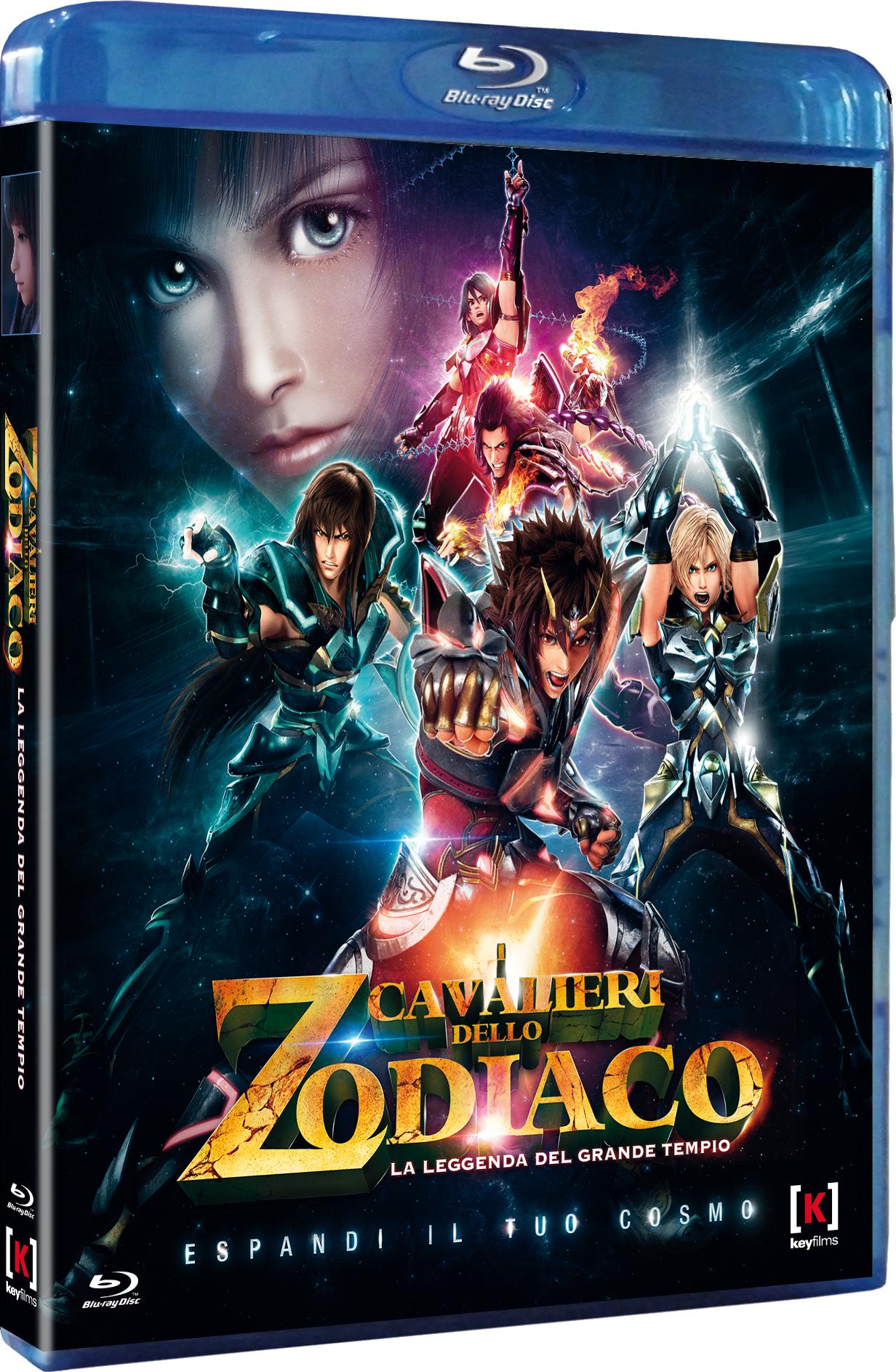 i cavalieri dello zodiaco leggenda del grande tempio dvd