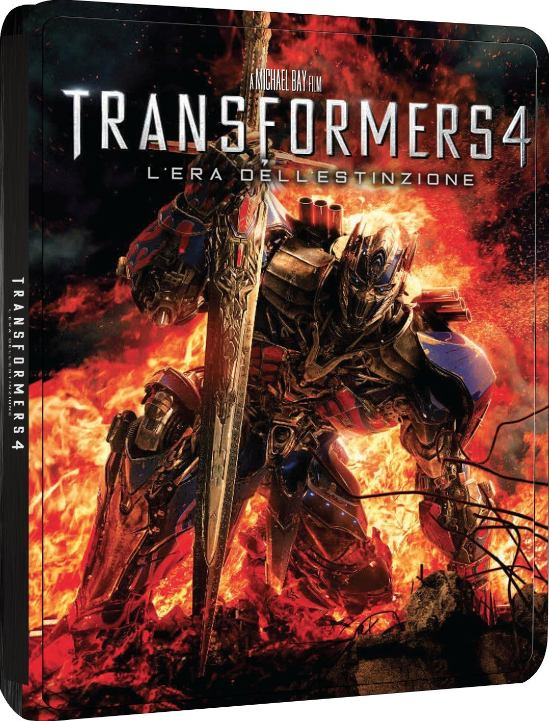 transformers 4 limited steelbook