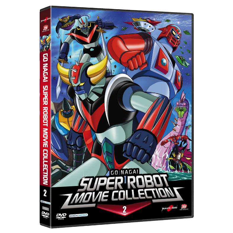 go nagai super robot dvd 2