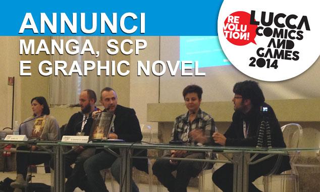 LUCCA COMICS 2014: TUTTI GLI ANNUNCI STAR COMICS