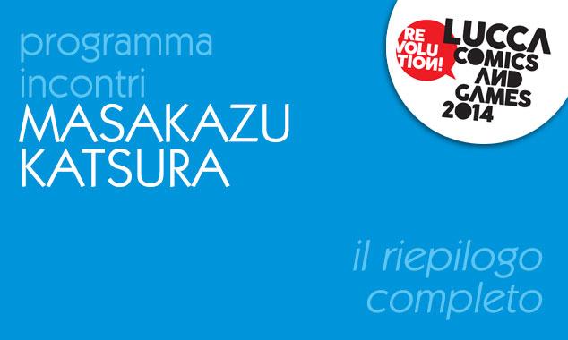 masakazu Katsura incontri programma lucca comics 2014