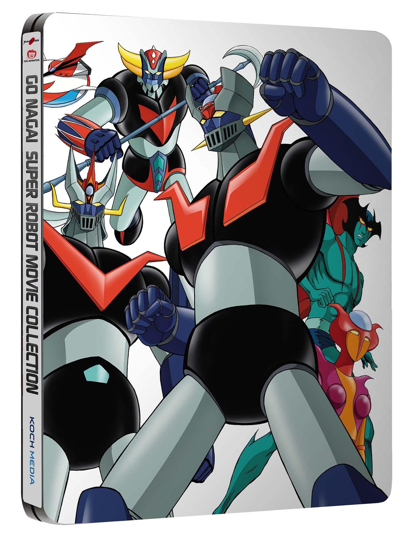 super robot go nagai steelbook